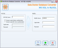 MSSQL to MySQL Data Migration Tool screenshot